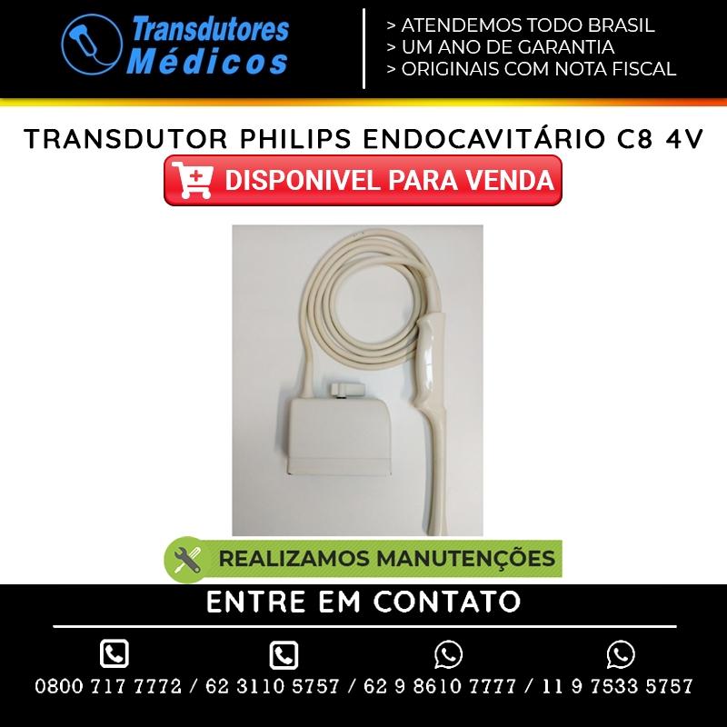 TRANSDUTOR-PHILIPS-ENDOCAVITARIO-C8-4V-VENDAS-E-CONSERTOS